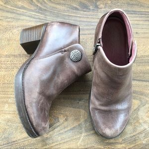 DANSKO • amelia heeled booties